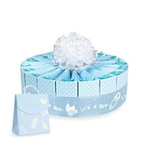 Baby Shower Single Tier Cake Favor Kit   Its A Boy by