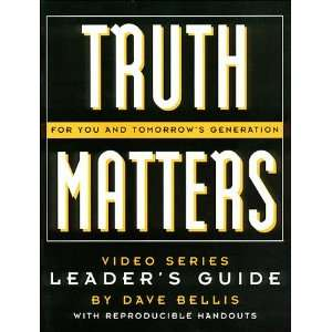 Truth Matters Leaders Gde (9780849986383) JOSH MCDOWELL Books
