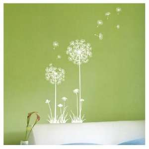 DANDELION SPORE WALL ART DECOR Mural Decal STICKER(SS58226