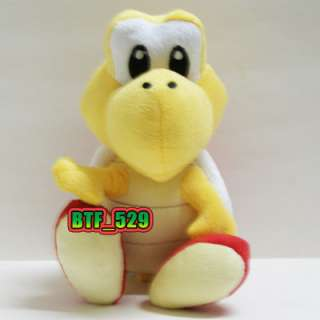 New Super Mario Brothers Plush Figure( 71/2 Red & Green Koopa Troopa