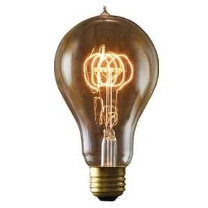 Bulbrite NOS25 VICTOR/A23 25 Watt Nostalgic Edison A23 Bulb, Victorian