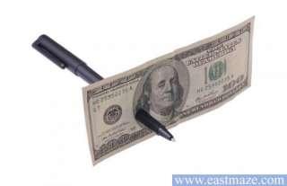 Magic Trick Toy Tool   Pen Through Paper Money SEE DEMO