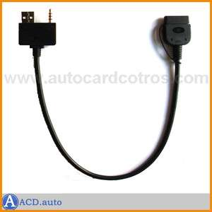 For Kia Hyundai iPod iphone adapter Cable Audio Aux USB 3.5mm
