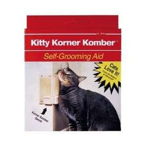 St. JONs Kitty Korner Komber Selfgroomer with Catnip for