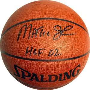 Magic Johnson Autographed HOF 02 Basketball  Sports