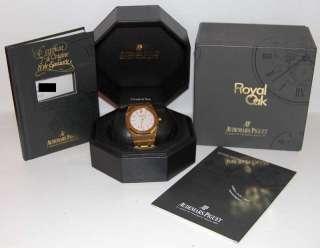 Audemars Piguet Royal Oak Jumbo Automatic 18k Gold Box & Papers JEWELS