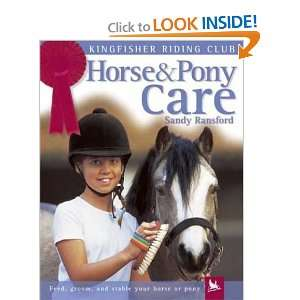 Horse & Pony Care (Turtleback School & Library Binding