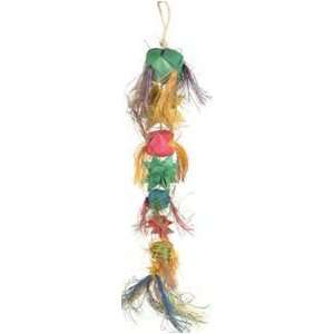 Planet Pleasures Balls and Stars Large Natural Bird Toy