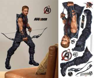 The Avengers Hawkeye Giant Wall Decal 034878712994