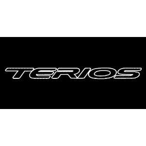 Toyota Terios Outline Windshield Vinyl Banner Decal 36