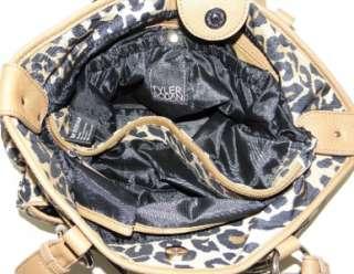 NEW TYLER RODAN LEOPARD PRINT   CHEETAH ANIMAL LARGE TOTE BAG