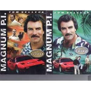 Magnum P.I. 2 Pack DVD Season 2 / Season 3 Tom Selleck Movies & TV