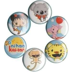 Ni Hao Kai Lan Buttons Pins Badges