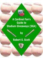 St. Louis Cardinals SGA reference guide book 1st & only of its kind