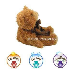 Aroma Latte Teddy Bear Hot /Cold Plush Stuffed animal Sootheze filled