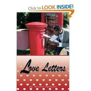Love Letters (9781438969015) Dr. Wilson Orhiunu Books