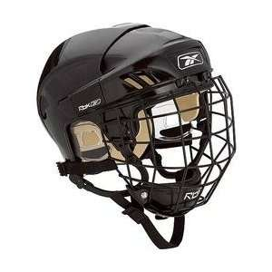 RBK 4K Ice Hockey Helmet and Cage Combo   White Large