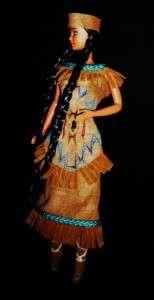 American Indian Village girl ~ OOAK Barbie doll Sacagawea