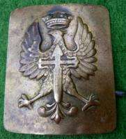 SPANISH CIVIL WAR BELT BUCKLE FOR GERMAN LEGION CONDOR c1936