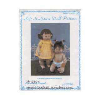 Soft Sculpture Doll Pattern, Jamie, J180: Martha Holcombe