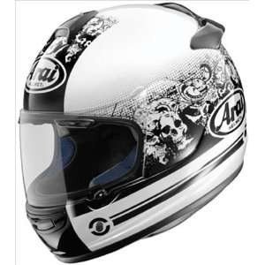 Arai Vector 2 Motorcycle Helmet   Thrill White Large Automotive