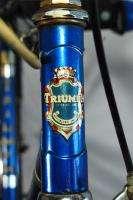 built Triumph Tenerife 5 speed english sports bicycle bike blue