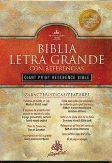 Santa Biblia Letra Grande RV 1960 NEW 9781558192690