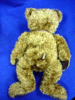 CHOCOLATE BROWN GUND TEDDY BEAR 16 CORDUROY PAW PADS