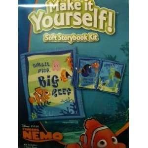 Disney Pixar Finding Nemo Make It Yourself Soft Storybook