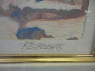 Howard Behrens HOTEL CALIFORNIA Serigraph L/E 198/300