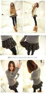 Girls Miss Cute Fashion Sexy Leopard Dot Tutu Under Shorts Mini Skirt
