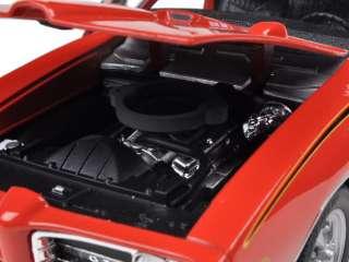 1969 PONTIAC GTO JUDGE ORANGE 124 DIECAST CAR MODEL
