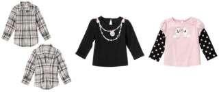 NWT Gymboree Plaid Tres Fabulous Top Shirt *Choose 1* 3 5T