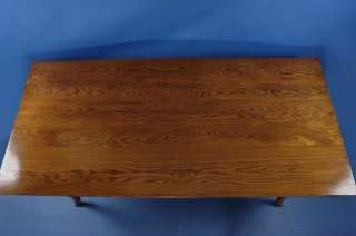 Antique Style English Furniture Solid Oak Dining Table