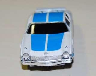 Vintage Aurora white/blue MATADOR slot car Ex RARE