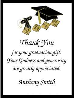 thank you notes for graduation money