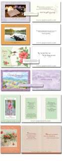 Sympathy Value Box 24 Greeting Cards with Scripture