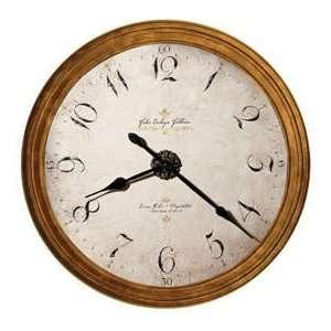 Howard Miller Enrico Fulvi II Framed Wall Clock 25 Inch