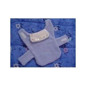 Dog Terry Robe Soft Baby Blue 25 28