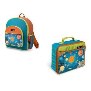 Crocodile Creek Backpack and Lunch Box Set  Solar System Baby