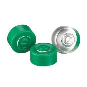 Wheaton 224182 07 Green Aluminum Center Disc Tear Out Unlined Seal