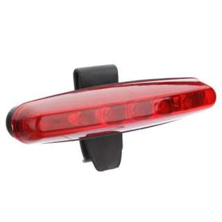 Cycling Bicycle Bike Caution Safety Rear Tail Lamp Light Red