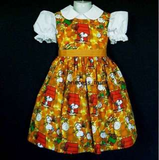 princess_trunk Peanuts Snoopy/Woodstock Fall Dress