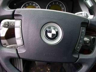 BMW HOOD TRUNK EMBLEM 745i e66 e65 745Li 745 carbon