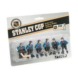 Stiga Colorado Avalanche Table Rod Hockey Players
