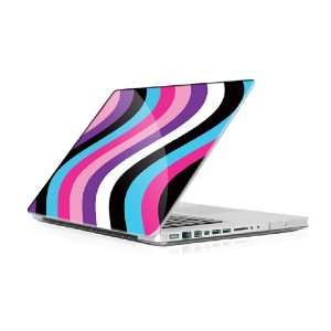 Swirly Stripes   Macbook Pro 15 MBP15 Laptop Skin Decal