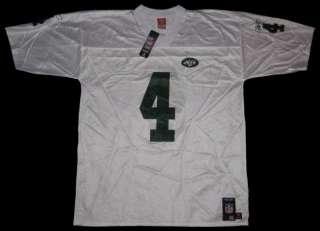 Brett Favre #4 Reebok NFL New York Jets Mens Jersey