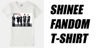 POP SHINEE FANDOM T SHIRT SHINEE Assorted size High quality Tshirt