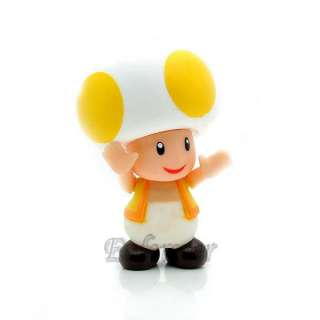 Action Figure Super Mario Bros Yellow TOAD^MS729