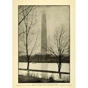 Washington Monument Midwinter D. C. Architecture Henry Hoyt Moore